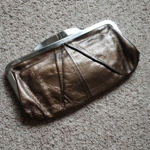 Hobo copper clutch wallet